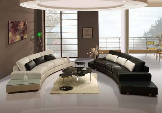 Leather Sofas Collection From La Vie Furniture