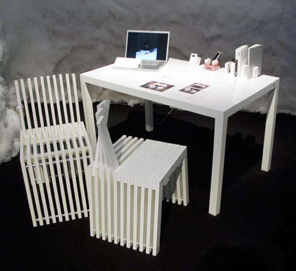 Multifunctional home furnishing by Phillip Don 1 Multifunctional home furnishing by Phillip Don   'Stand Up' collection