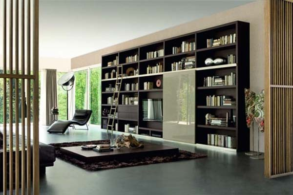 New contemporary bookcases collection Italian bookcases style by Doimo Design 1 New contemporary bookcases collection, Italian bookcase style by Doimo Design