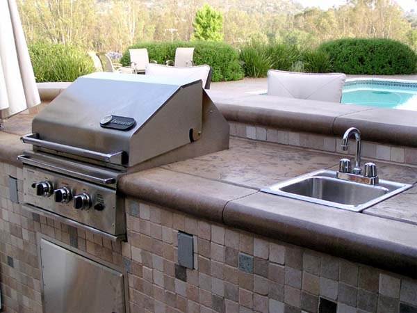 outdoor kitchen design - for barbeques or whatever you like