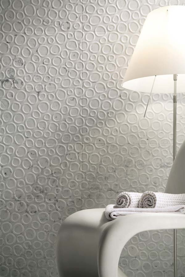 RUGIADA wall covering from Q bo projects 3 Wall decor, solution for those of you who get bored with walls of your house