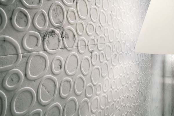 RUGIADA wall covering from Q bo projects 4 Wall decor, solution for those of you who get bored with walls of your house