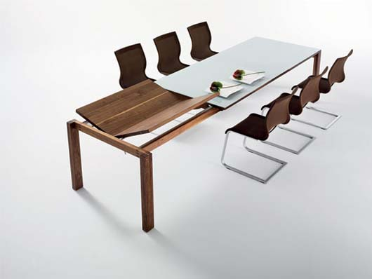 Table design with modern lines by Martin Ballendat 1 Table design with modern lines by Martin Ballendat