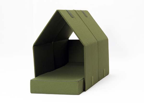 The TENT SOFA by Philippe Malouin designed focus on sofa beds 3 The TENT SOFA by Philippe Malouin   designed focus on sofa beds