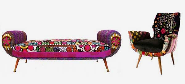Tradition of embroidery furniture by Bokja 1 Tradition of embroidery furniture by Bokja