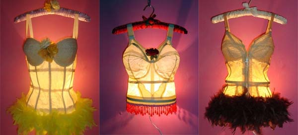 Sexiest lamp by kelly kerrigan tramp lamps indoor lamp for Wealth from waste ideas