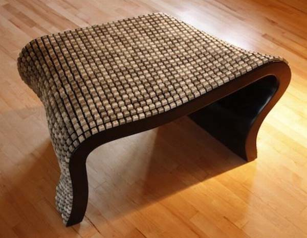 Wolfgang Keyboard Bench by Nolan Herbut 4 Wolfgang Keyboard Bench   eco friendly bench from keyboard