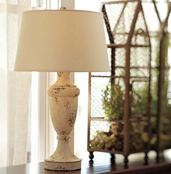 Brentwood table lamp base this