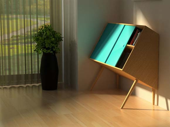 Chin Up Wooden storage cabinets by Lisa Sandall 1 Chin Up   Wooden storage cabinets by Lisa Sandall