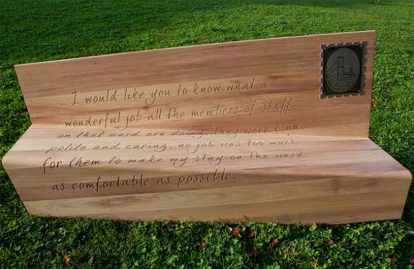 Creative Letter Bench from Boex 1 Creative Letter Bench from Boex