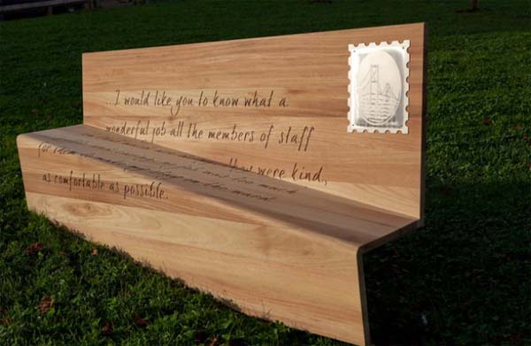 Creative Letter Bench from Boex 2 Creative Letter Bench from Boex