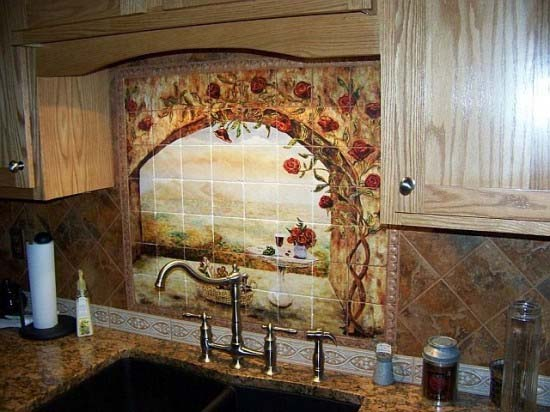 Kitchen Backsplash Ideas inspired by natural beauty from Linda Paul 10 Kitchen Backsplash Ideas inspired by natural beauty from Linda Paul