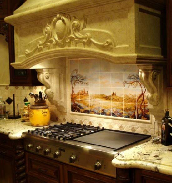 Kitchen Backsplash Ideas inspired by natural beauty from Linda Paul 3 Kitchen Backsplash Ideas inspired by natural beauty from Linda Paul