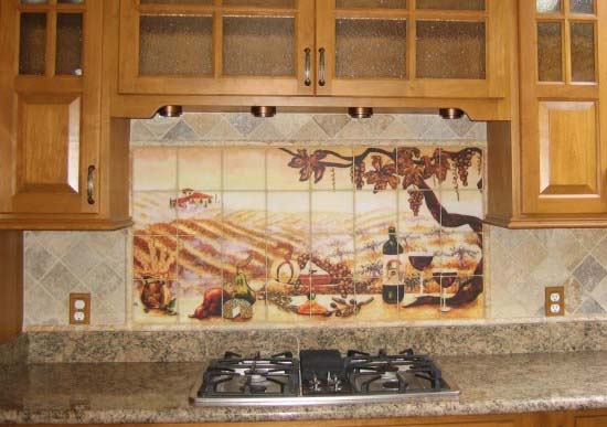 Kitchen Backsplash Ideas inspired by natural beauty from Linda Paul 7 Kitchen Backsplash Ideas inspired by natural beauty from Linda Paul