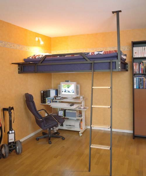Loft Bed Ideas for Small Rooms 500 x 600