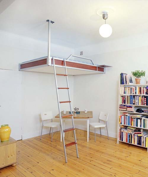 Loft beds for small apartment or flats from Compact Living 2 Loft beds for small apartment or flats from Compact Living