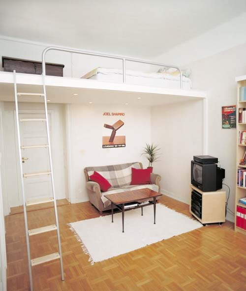 Small Loft Apartments: Loft Beds For Small Apartment Or Flats From Compact Living