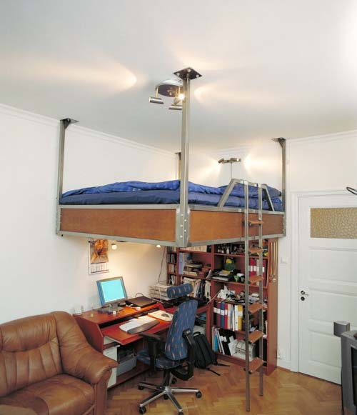 Loft beds for small apartment or flats from Compact Living 6 Loft beds for small apartment or flats from Compact Living