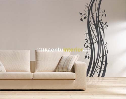 Modern decorative wall decals from Miraentu Interior 2 Wall decals   Modern decorative vinyl wall decals from Miraentu Interior