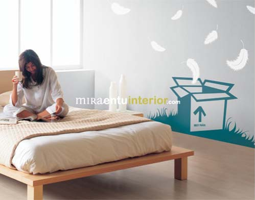 Modern decorative wall decals from Miraentu Interior 4 Wall decals   Modern decorative vinyl wall decals from Miraentu Interior