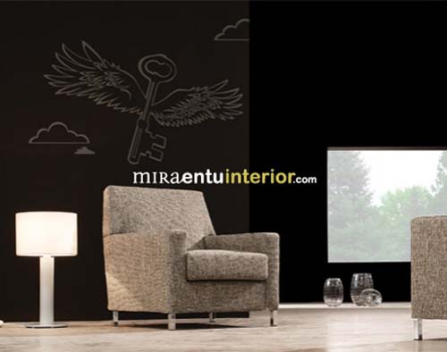 Modern decorative wall decals from Miraentu Interior 7 Wall decals   Modern decorative vinyl wall decals from Miraentu Interior