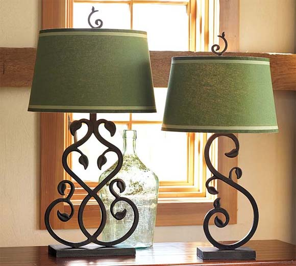 12 Table lamps and bedside lamps collection from Pottery Barn