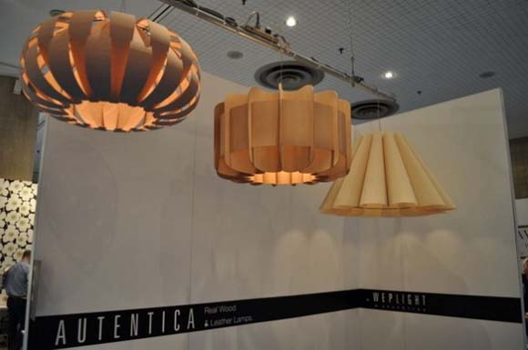 New wood veneer lamps from Marcelo Dabini 1 3 New wood veneer lamps from Marcelo Dabini   exhibition at ICFF 2010