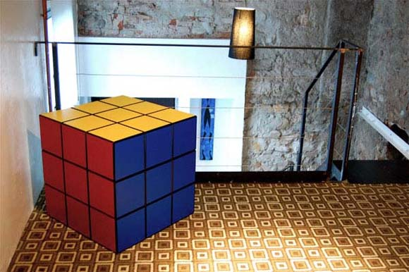 Rubiks puzzle Cube Game be a Furniture ideas from Clab4design 1 Rubiks Cube puzzle Game be a Furniture   ideas from Clab4design