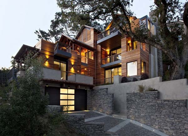 The Hillside House the first LEED for Homes Platinum certified house in Marin County by SB Architects 1 The Hillside House, the first LEED for Homes Platinum certified house in Marin County by SB Architects