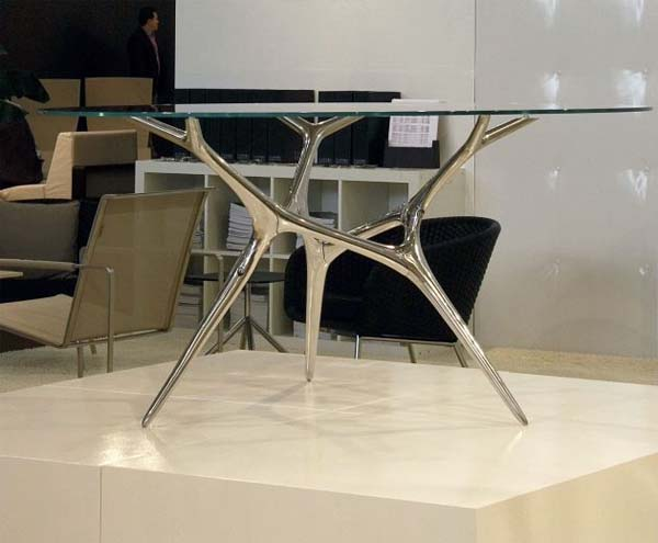 The e volved table inspired by natural fluid patterns and naturally grown shapes Timothy Schreiber 1 The e volved table inspired by natural fluid patterns and naturally grown shapes by Timothy Schreiber
