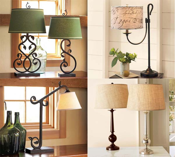 classical table lamps and bedside lamps collection from Pottery Barn 13 12 Table lamps and bedside lamps collection from Pottery Barn