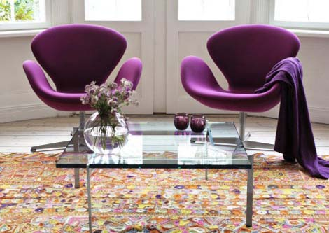 Beautiful Swan Chair and Sofa from Fritz Hansen 1 Beautiful Swan Chair and Sofa from Fritz Hansen