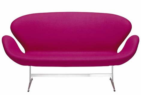 Beautiful swan chair and sofa from fritz hansen - Muebles pop art ...