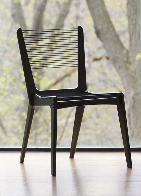 Cord Chair by Jacques Guillon 1 The return of Classic Chair Design   Cord Chair by Jacques Guillon