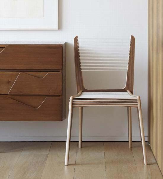 Cord Chair by Jacques Guillon 2 The return of Classic Chair Design   Cord Chair by Jacques Guillon