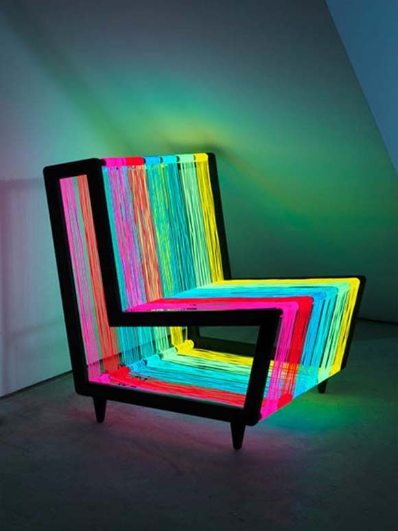 Disco Chair Flashy chair design from Kiwi and Pom 1 Flashy chair design from Kiwi & Pom   Its Disco Chair