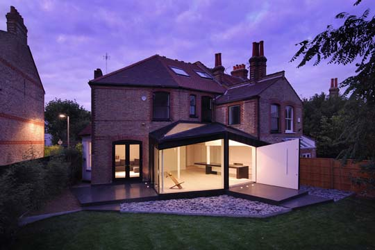 Home extensions project in london inspired by the existing for House design london