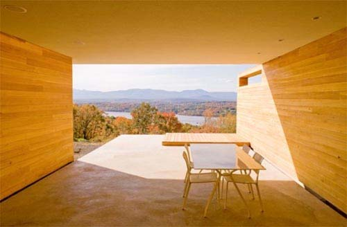 House on MT.Merino design by Joel Sanders Architect 4 House on MT.Merino   designed to take advantage of breathtaking views of the Hudson River and Catskill Mountains