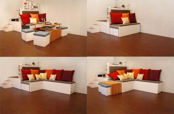 Multifunctional Furniture Newshousedesigncom