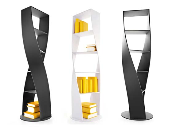 MYDNA Bookcase design by Joel Escalona 1 Storage Solutions   MYDNA Bookcase contemporary Storage System inspired by the DNA concept
