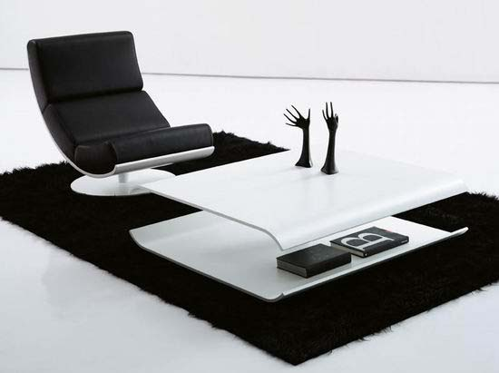 Modern Coffee Table design by Rafa Garcia - Sancal Elipse Coffee Table
