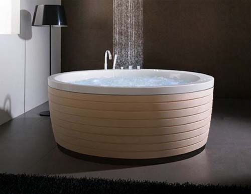 Soleil Round Bathtub from Porcelanosa 1 Soleil Round Bathtubs from Porcelanosa