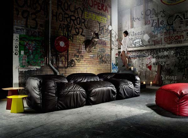 Supadupa Sofa from Alexander Lotersztain 1 Sleeper Sofas to answer the needs of your nap   Supadupa Sofa from Alexander Lotersztain