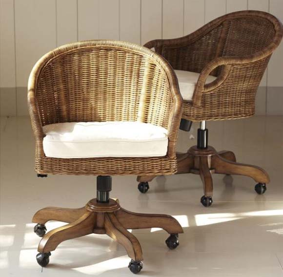 Wingate Desk Chairs Cushions from Pottery Barn 5 Office Chairs to add a warm ambience into your office   Wingate Desk Chairs Cushions from Pottery Barn