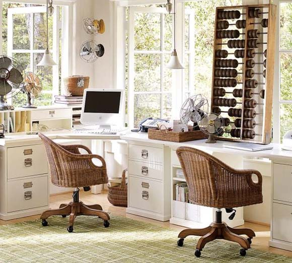 Wingate Desk Chairs Cushions from Pottery Barn 6 Office Chairs to add a warm ambience into your office   Wingate Desk Chairs Cushions from Pottery Barn