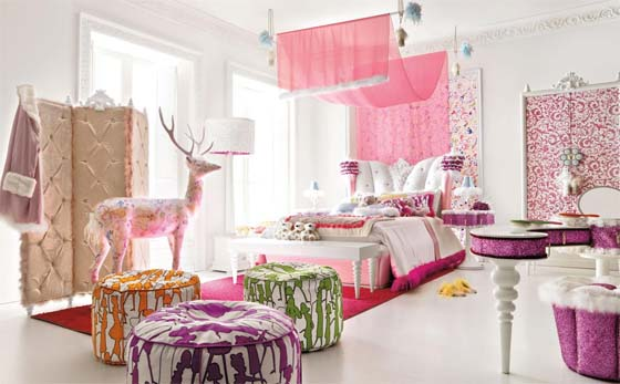 Girl bedroom. Girl Room Ideas with Altamoda Girl sets