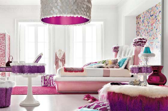 Altamoda Girl bedroom furniture sets and accessories 2 Girl Room Ideas with AltaModa Girl sets
