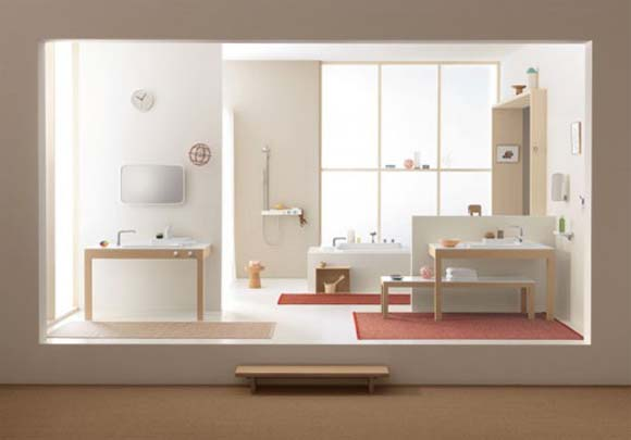 free to determine the idea of bathroom design according to