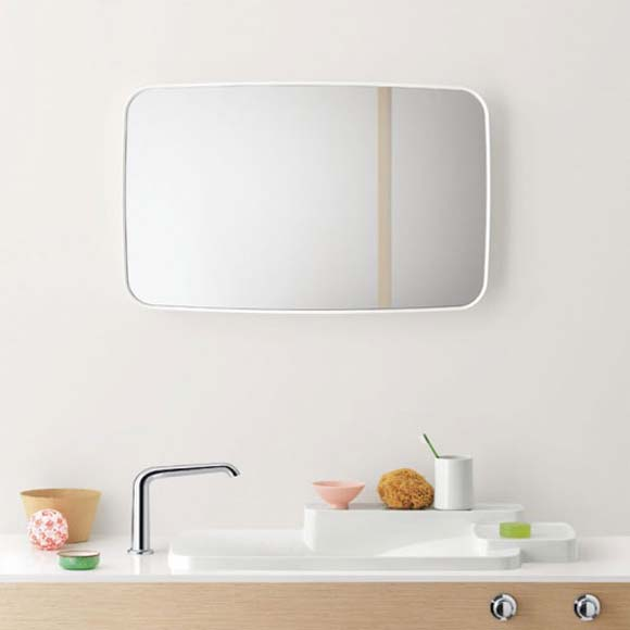 modern bathroom mirror