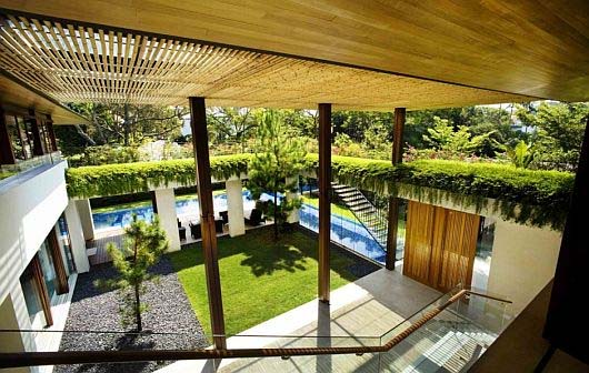 roof gardens house